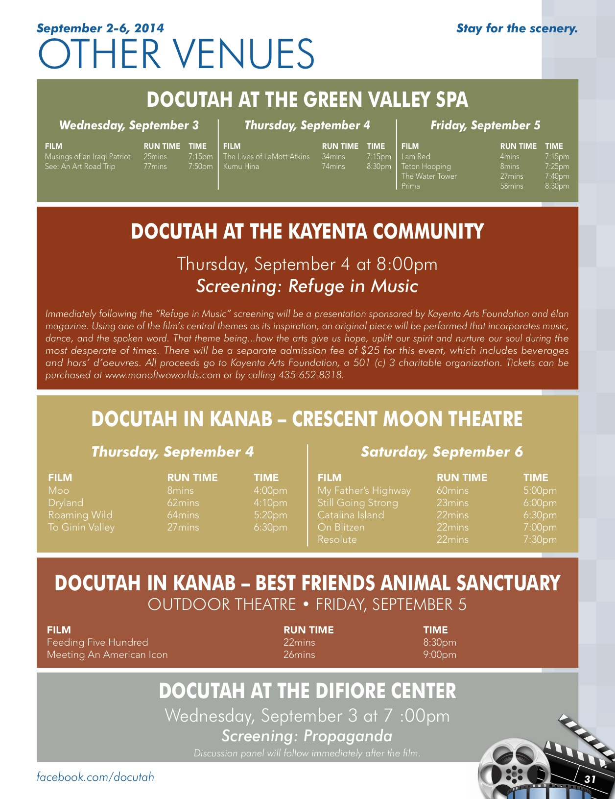 2014_DOCUTAH Festival Guide_Other Venues