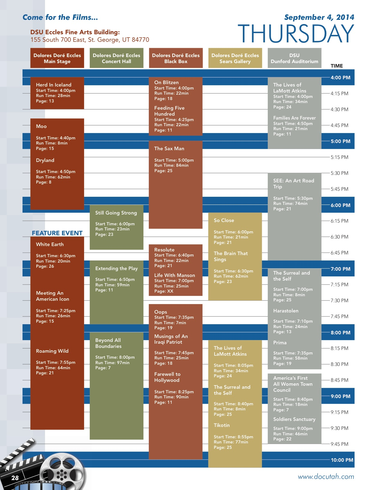 2014_DOCUTAH Festival Guide_Thursday